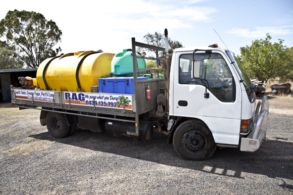 Septic Service Truck